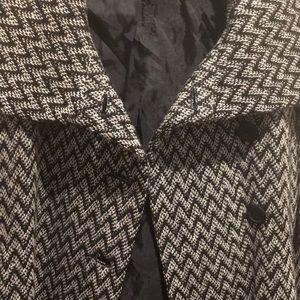 NWT Jack BB Dakota short white/black jacket size S